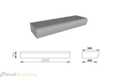 betonnen-traptreden-bloktreden-ronde-neus TD-XS 500 450