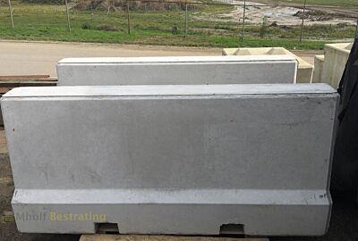 Betonnen Barrier 200x54x90 grijs