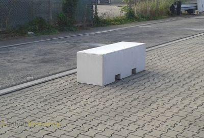 Betonnen heftruckblok 156x50x50cm
