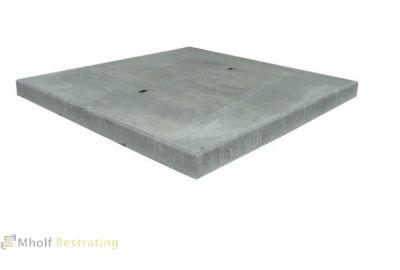 Betonplaat met hoekrand 200x130x12 cm