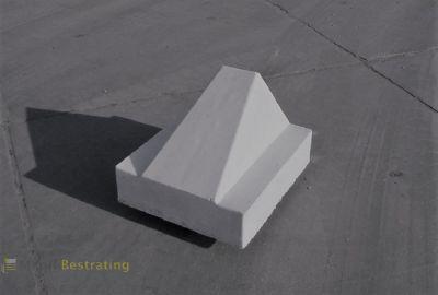 Betonnen Schrikblok 60x50x40 grijs
