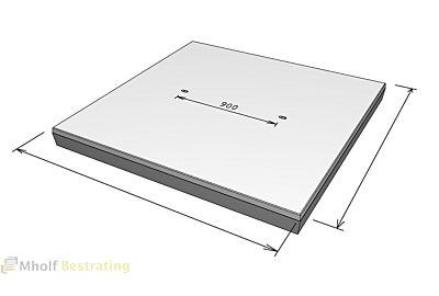 Stelcon N- betonplaat met vellingkant zonder afmetingen